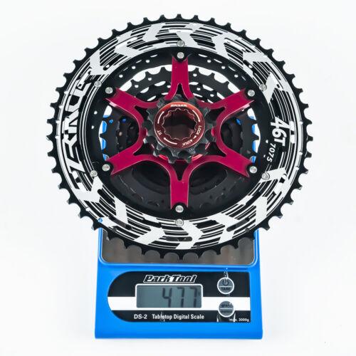 ZRACE Alpha MTB 10s Cassette 10 Speed MTB Lightweight Cassette freewheel 46T//50T