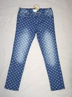 Crazy 8 Girls Size 14 Style On The Go Skinny Jeans Denim Pants Deo Diamond
