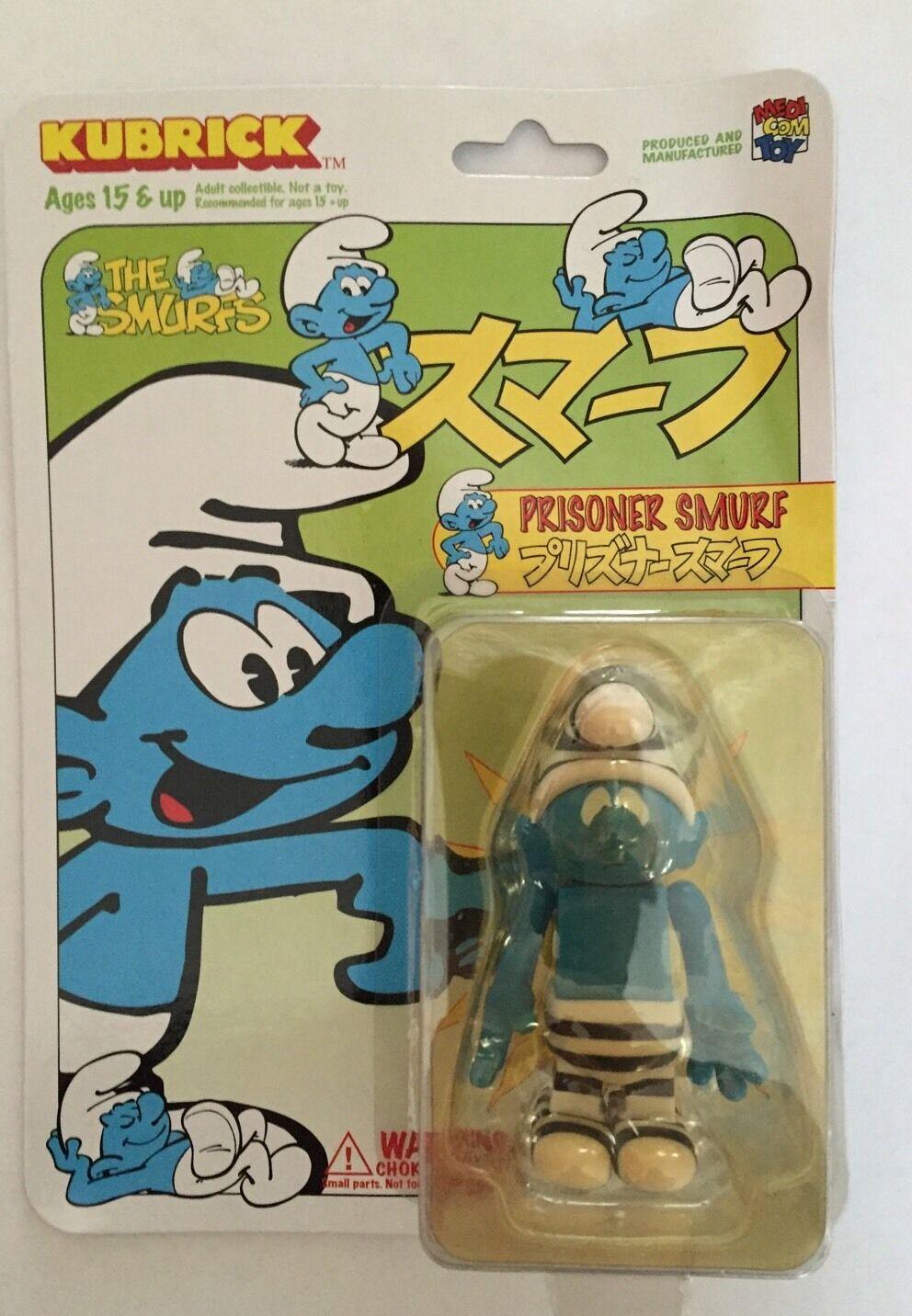Schtroumpf Prisonnier , Prisoner Smurf , Schlumpf Kubrick Medicom Toy