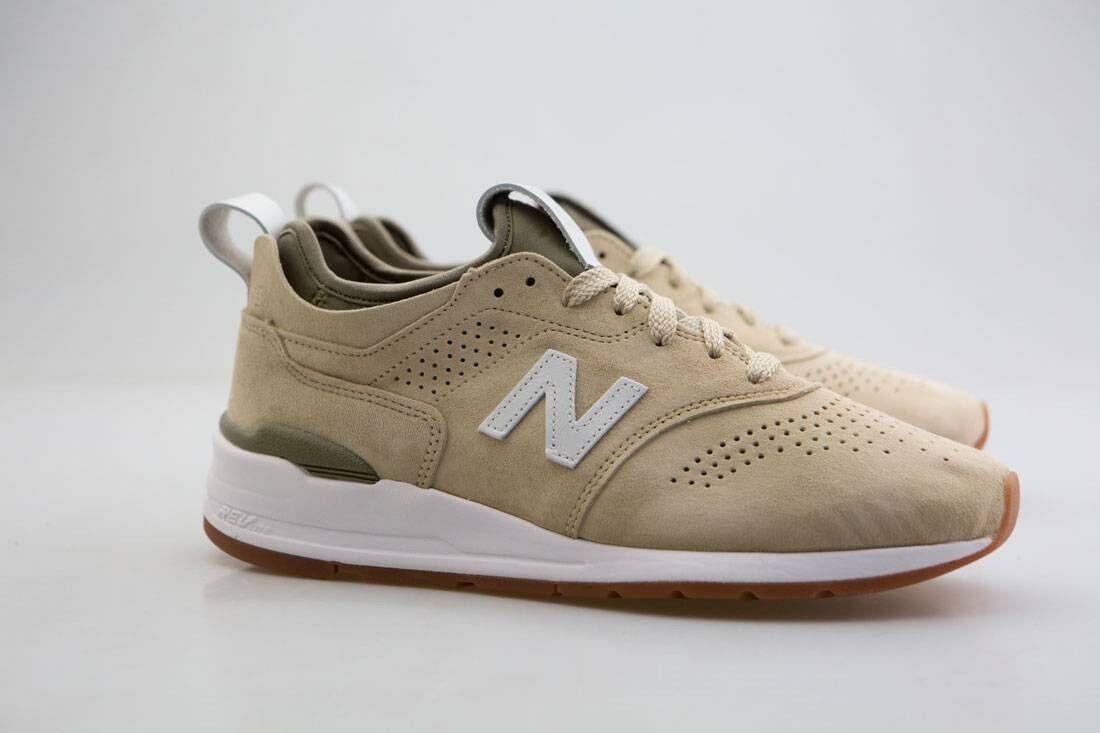 M997DRA2 New Balance Men 997 In Deconstructed M997DRA2 - Made In 997 USA tan sand white d57326