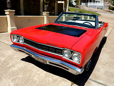 1968 Plymouth Satellite CONVERTIBLE 440 MAGNUM BIG BLOCK