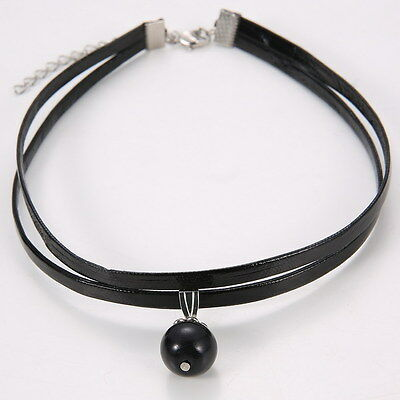 Charm Fashion Choker Necklace Unsex Velvet Leather Pendant Gothic Gift Jewelry