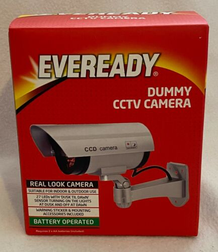 Eveready Battery Operated Real Look Dummy CCTV Camera Brand New