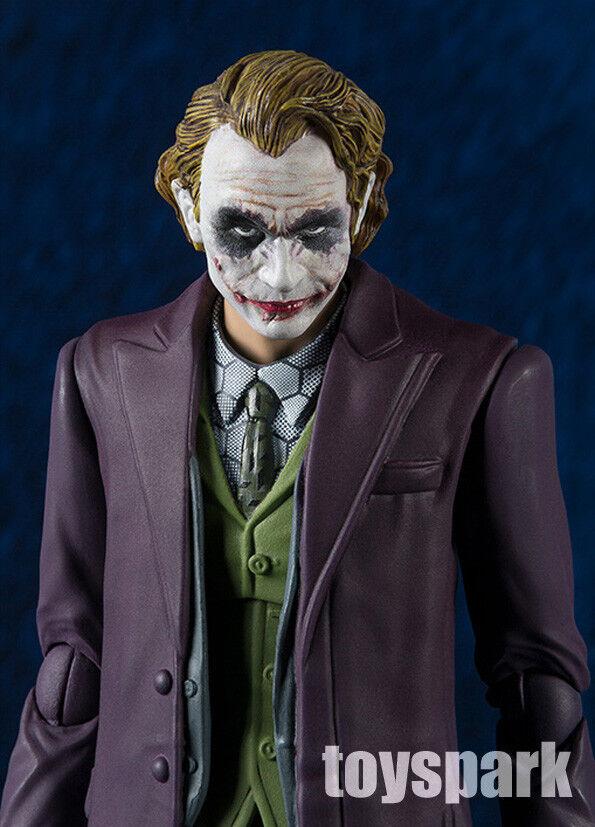 BANDAI S.H.Figuarts dc Batman The Dark Dark Dark Knight JOKER Heath Ledger action figure 41d082