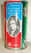 Canada Dry Bicentennial Patriot Series Thomas Paine Steel Ginger Ale Soda Can