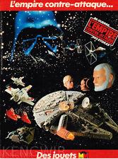 """PUBLICITE  PUB  ADVERTISING  """" STAR WARS  """"  vintage 80's  / Années 80  ¨¨"""