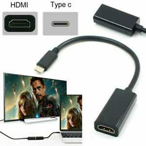 USB-C-Type-C-to-Female-HDMI-HDTV-Adapter-Cable-For-Samsung-S9-S8-Note-9-Macbook