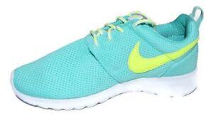 Nike Roshe One GS 599729 302 HyperTurq Jade White size 6Y