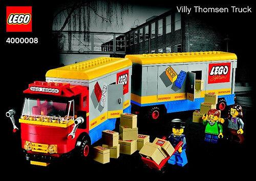 Lego tiene 400008 viajes internos Willie Thomson Ltd.