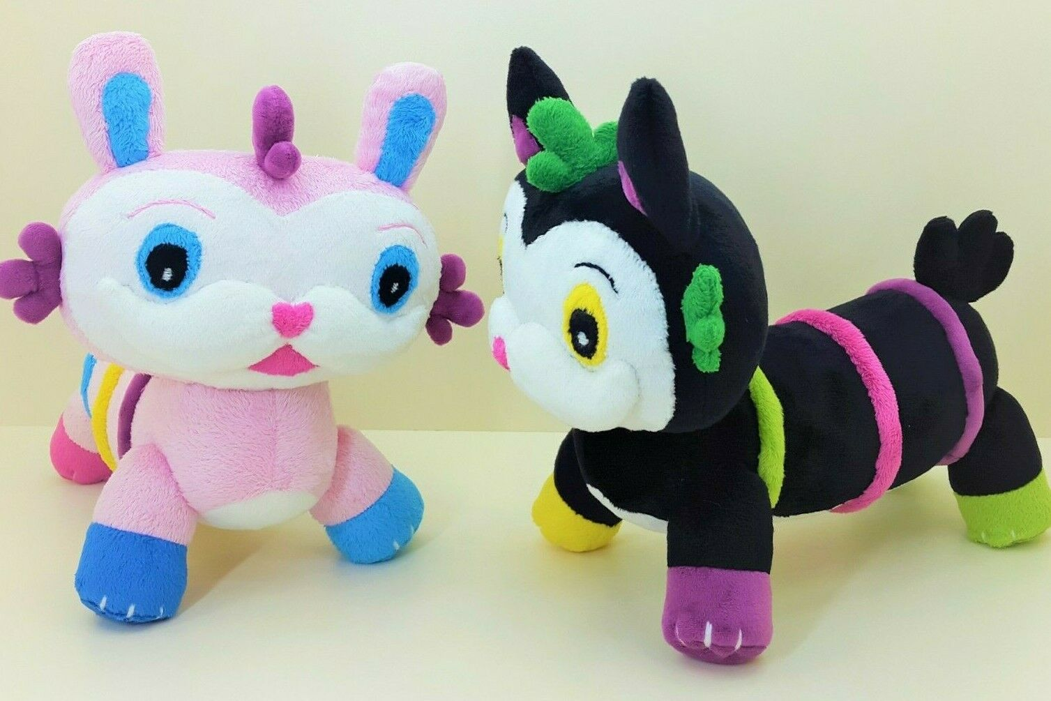 Mo and and Bo plush inspired of Abby Hatcher toy