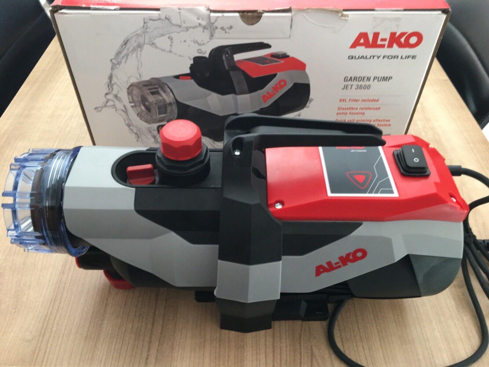 Wasserpumpe AL-KO Jet 3000 Inox Classic  //#856322 Gartenpumpe
