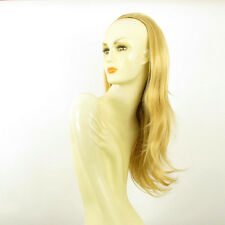 DT Half wig HairPiece extensions long light golden blond 24.4  REF :13/lg26
