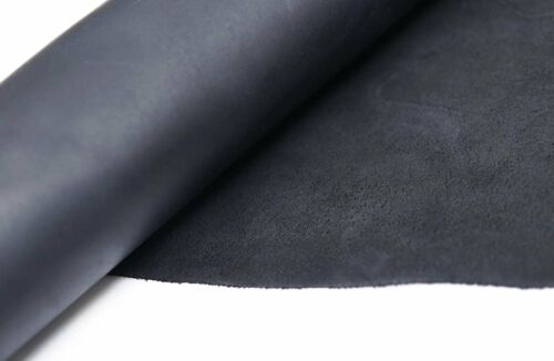 Full Grain Tooling Leather Cowhide Black Leather 9-10 oz 3.6-4mm