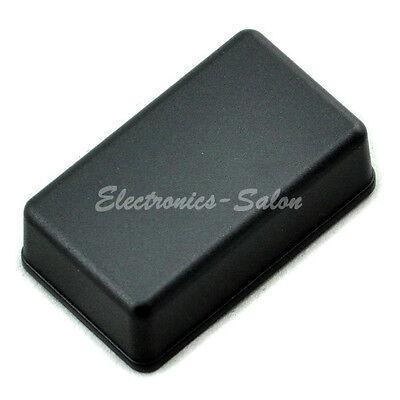 Small Desk-top Plastic Enclosure Box Case, Black, 61x36x20mm, HIGH QUALITY.