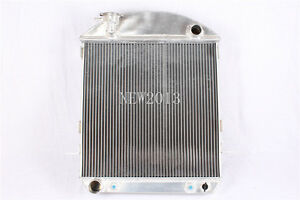 New 1924-1927 FORD MODEL-T-BUCKET FORD ENGINE All Aluminum Radiator 3 Row