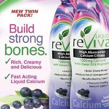 LIQUID reViva Calcium, 64 Ounces - NEW