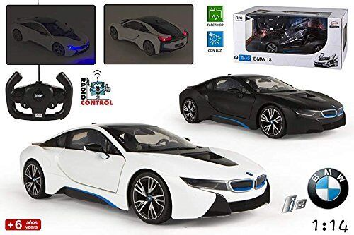 1 14 schwarz Or Weiß Weiß Weiß BMW i8 Battery Operated RC Radio Control Toy Car NEW a5daa8