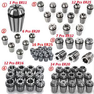 ER16 Φ10, ER16 Spring Collet Set For CNC Workholding  /& milling Lathe Tool
