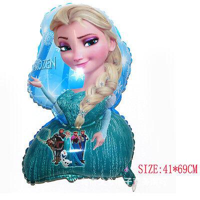 5pcs Disney FROZEN Princess Elsa Mylar Balloon Birthday party Supplies