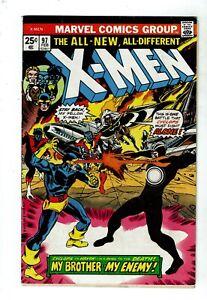 Uncanny-X-Men-97-VG-3-5-1st-Appearance-Lilandra-Wolverine-Storm-MVS