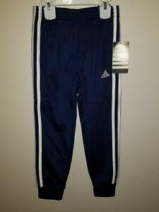 New-Adidas-Unisex-White-Red-Stripe-Tricot-soccer-Jogger-Sweat-Pants-AK5364