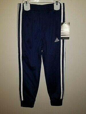 Adidas Youth Boys White Stripe Tricot Jogger Sweat Track Pants AK5364