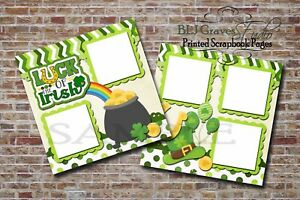 Luck-of-the-Irish-St-Patrick-Day-2-PRINTED-Premade-Scrapbook-Pages-BLJgraves-23