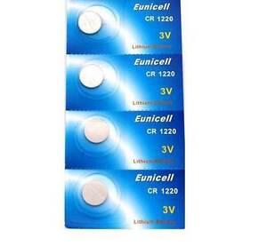La imagen se está cargando EUNICELL-4-Pilas-Litio-3-voltios-CR1220-BR1220- ed10e50f887f