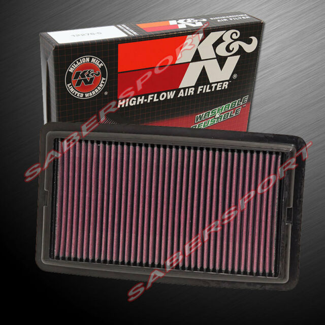 K&N 33-5013 Hi-Flow Air Intake Washable Drop In Filter For