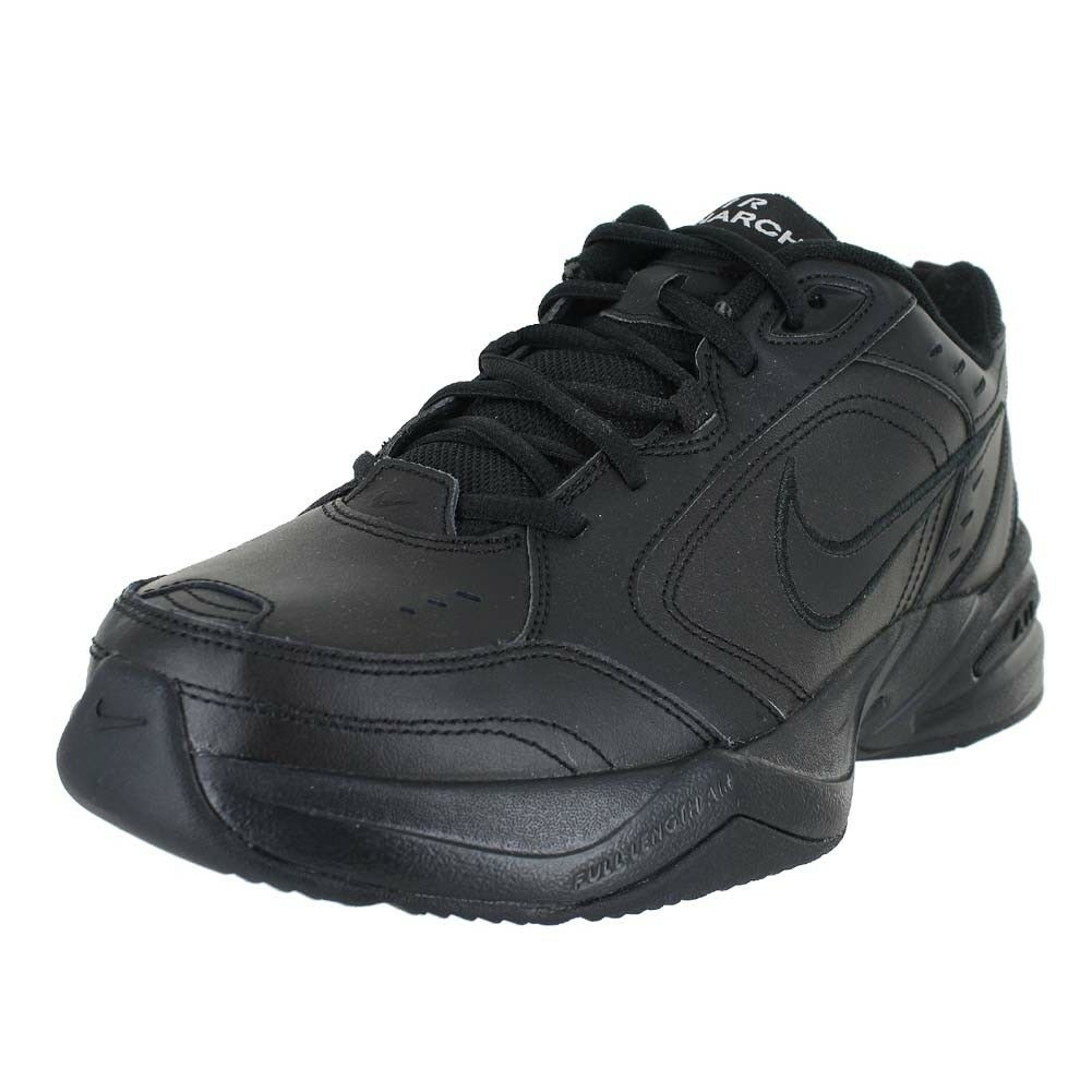 NIKE AIR MONARCH 4 4E EXTRA WIDE BLACK BLACK 416355-001 MENS US SIZES