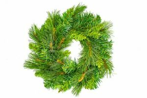 Make-your-own-Christmas-Wreath-30cm-50-green-branches-craft-xmas-holly-bauble