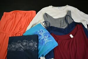 Old-Navy-Women-039-s-Large-Mixed-Lot-of-Various-Styles-Tops-amp-Dresses-Lot-of-7