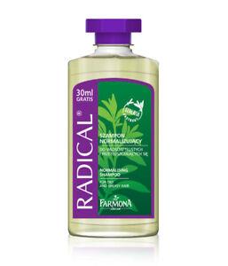 2-x-330ml-RADICAL-NORMALISING-SHAMPOO-FOR-OILY-AND-GREASY-HAIR-FARMONA
