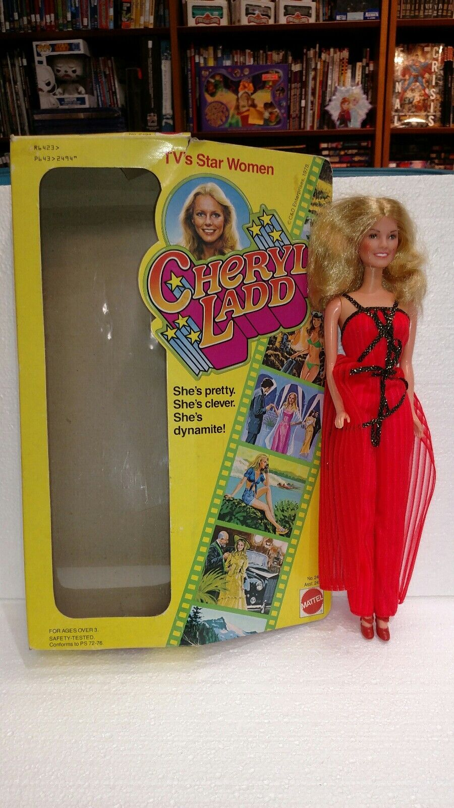 1978 MATTEL CHERYL LADD TV'S STAR damen DOLL IN BOX