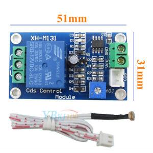 12-V-Sensor-de-Luz-del-Coche-Modulo-de-Rele-Photoresistor-Interruptor-de-Control-Automatico-con