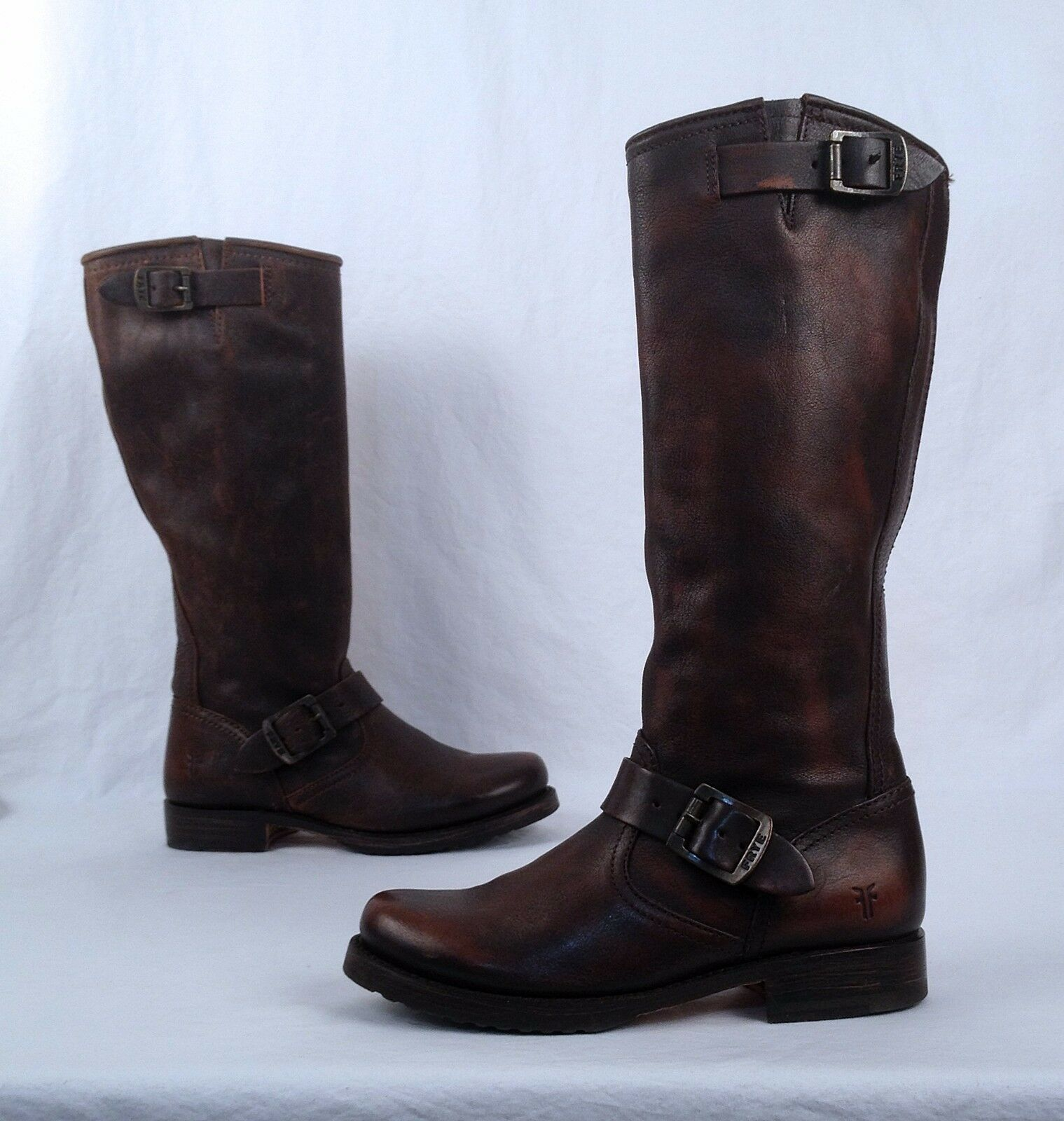 Frye 'Veronica Slouch' Boot- Dark Brown- Size 6 B    (B22)