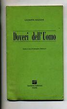 Giuseppe Mazzini # DOVERI DELL'UOMO # Santerno 1990