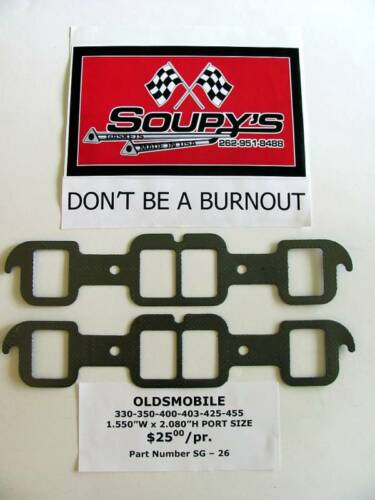 330-350-400-403-425-455 Oldsmobile Exhaust Gaskets