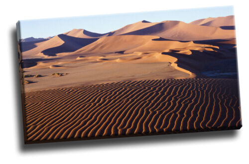 Sand Dunes, Sossusvlei, Namibia, Africa Canvas Picture Poster Art