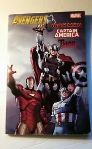 2010-Avengers-Marvel-Iron-Man-Captain-America-Thor-Super-Heroes-1-3-Comic-Book