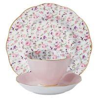 Royal Albert Rose Confetti Tea & Cake Set
