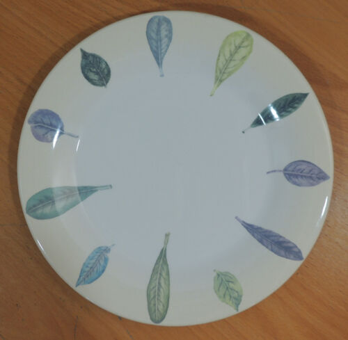 """Seasons Collection by Portmeirion Beige Lilac /& Green Leaves Salad Plate 8 5//8/"""""""