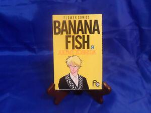 Manga BANANA FISH Vol. 8 Akimi Yoshida, Flower Comics (Japanese) Anime