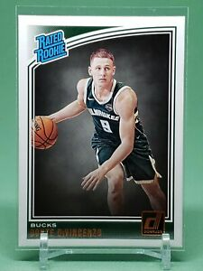 2018-19-Donruss-Donte-DiVincenzo-RC-Rated-Rookie-Card-Milwaukee-Bucks