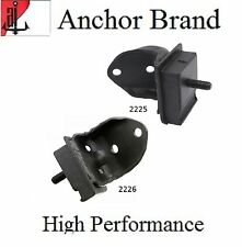 2 PCS FRONT LEFT & RIGHT MOTOR MOUNT For 1963 FORD FALCON 2.8L