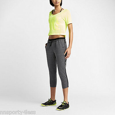 armario ellos lector  Nike 704797 Women's Cool Touch Dance Crops Pants Running Training $100  Capris | eBay