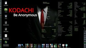Kodachi Bootable Linux USB3.1 - FAST, Secure, Anonymous, VPN, Tor, Persistence