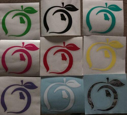 Georgia Peach Pride Sticker