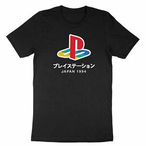 Playstation Games Gamer Costume T-Shirt Tee Shirt Symbol Printed Classic Gaming