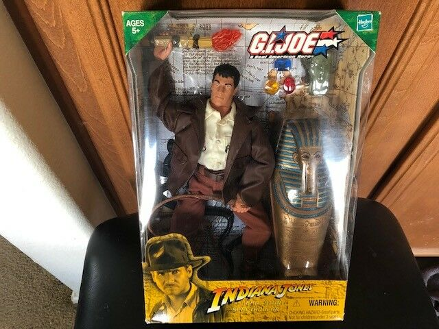 GI Joe Indiana Jones Epic Stunt Spectacular Figure Hasbro 2004